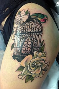 Bird Cage Tattoo Meaning