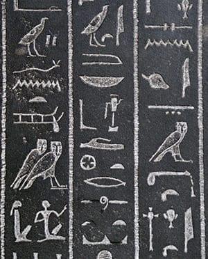 Egyptian Bird Hieroglyph