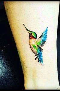Hummingbird tattoo symbolism