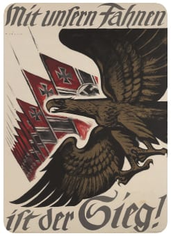 Nazi Bird - symbol and flags
