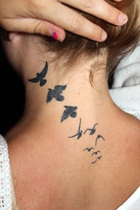 Flying Birds Tattoo Meaning