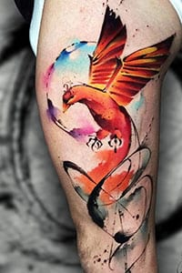 Phoenix Bird tattoo meaning
