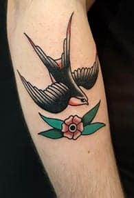swallow tattoo symbolism