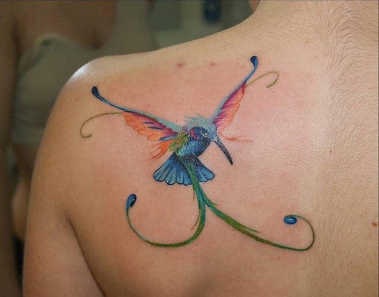 Hummingbird tattoo meaning