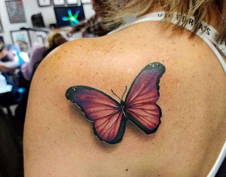 Butterfly Tattoo Meaning